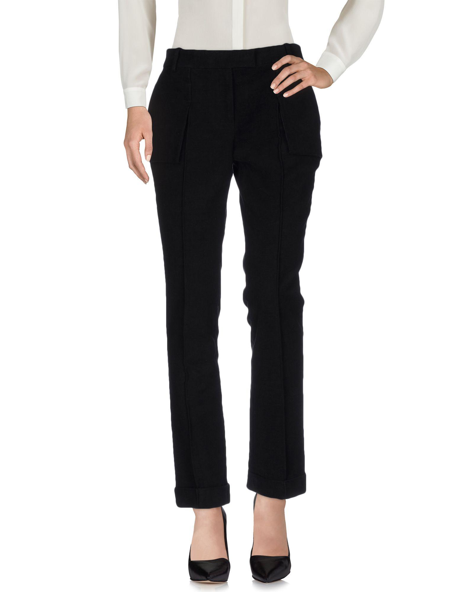 GIULIANO FUJIWARA Casual Pants in Black