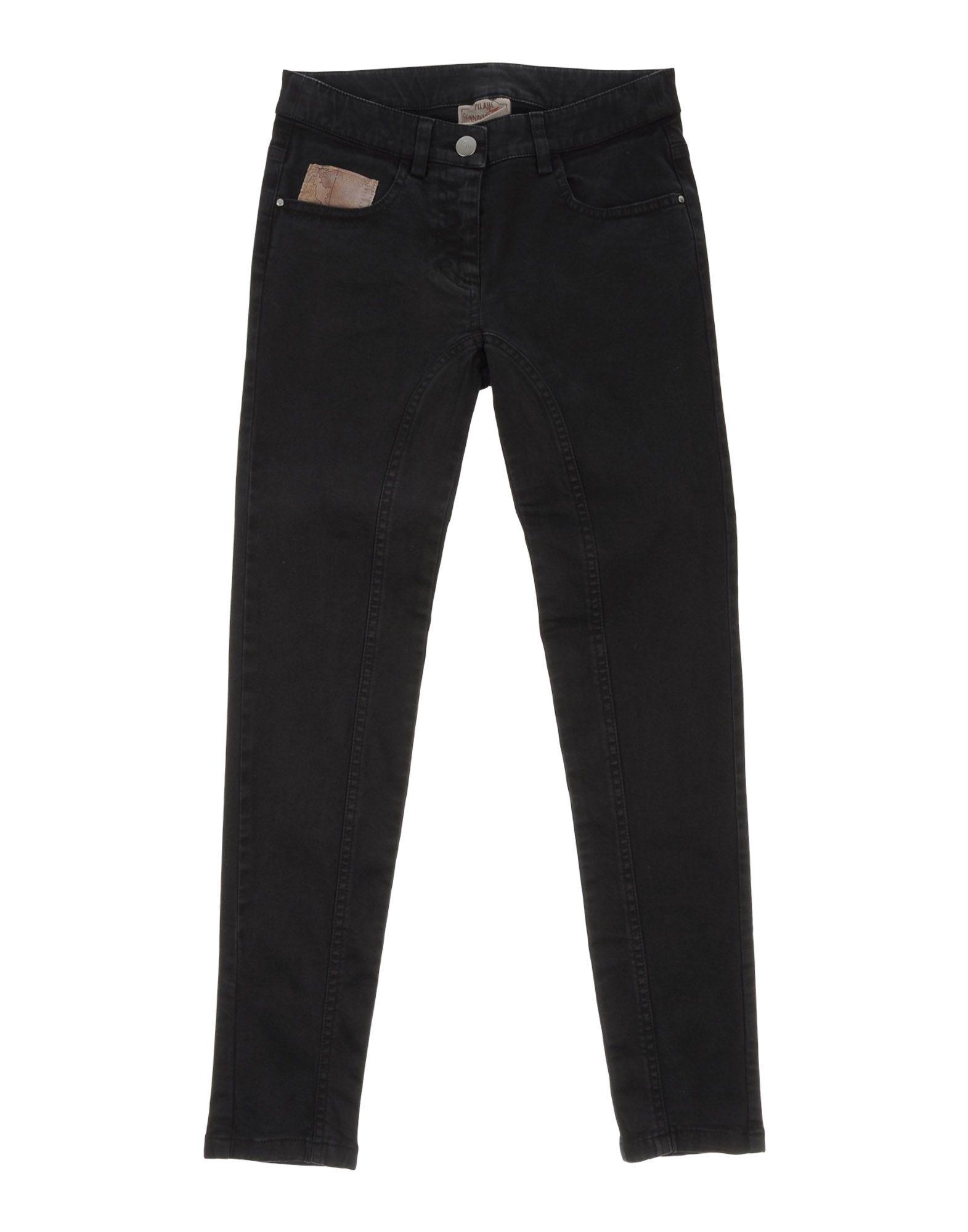 《セール開催中》DONNAVVENTURA by ALVIERO MARTINI 1a CLASSE ガールズ 9-16 歳 パンツ ブラック 10 コットン 97% / ポリウレタン 3%