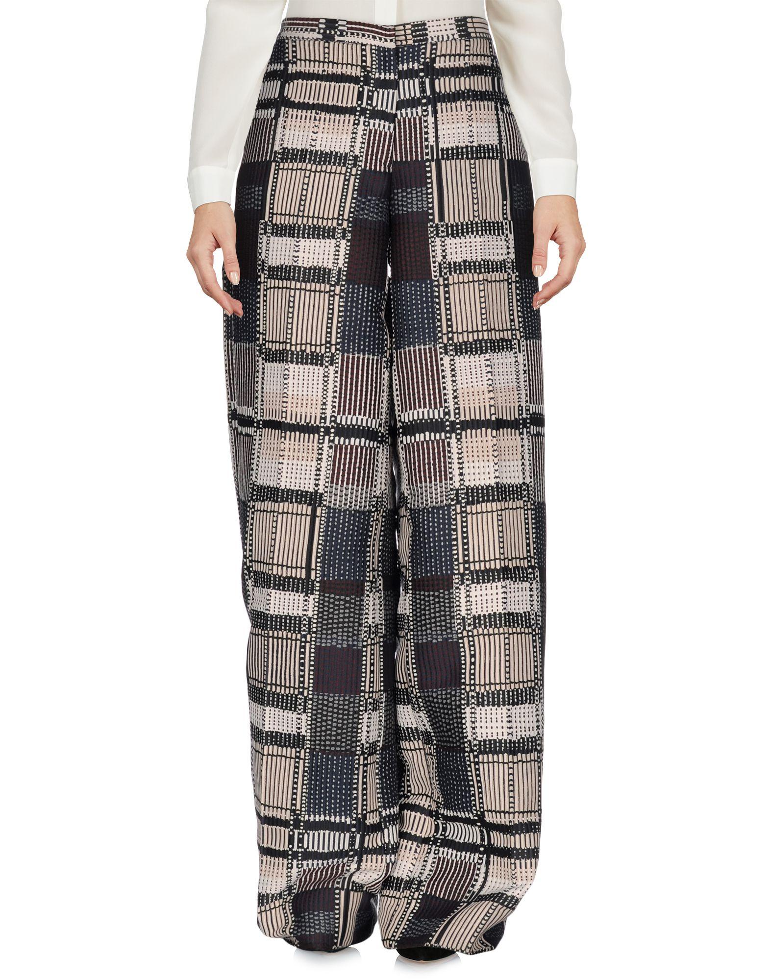 MAURIZIO PECORARO Повседневные брюки цена 2017