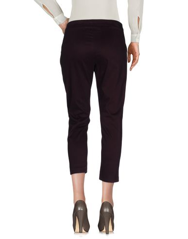 Фото 2 - Повседневные брюки от TOLÈRANCE цвет баклажанный