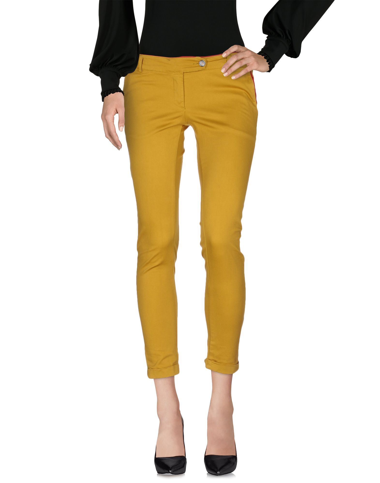 PRIVE' ITALIA Повседневные брюки h2o italia джинсовые брюки