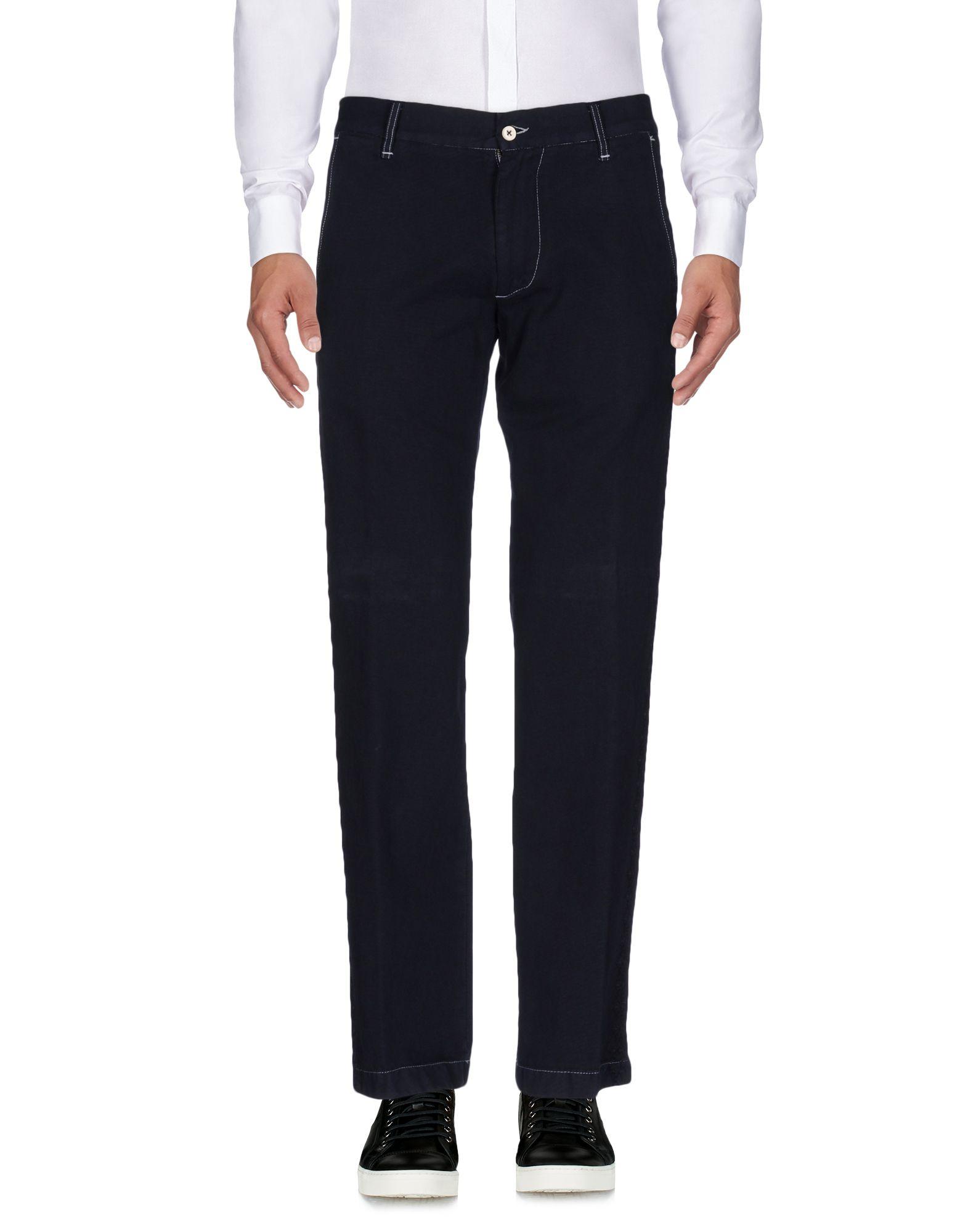 《送料無料》WEBER メンズ パンツ ダークブルー 48 コットン 100%