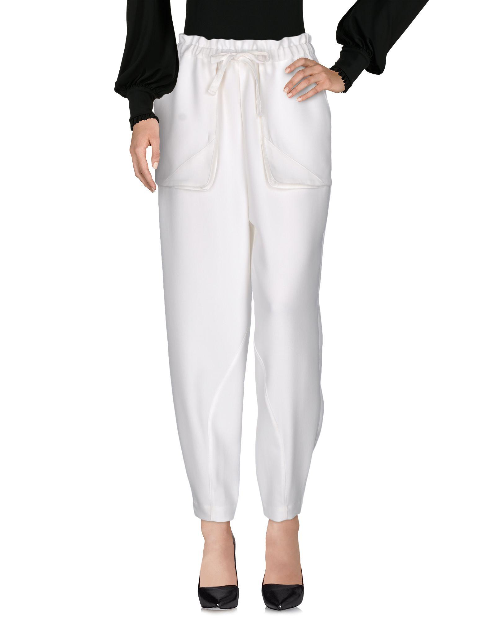 DESIGNERS REMIX CHARLOTTE ESKILDSEN Повседневные брюки designers remix collection пиджак
