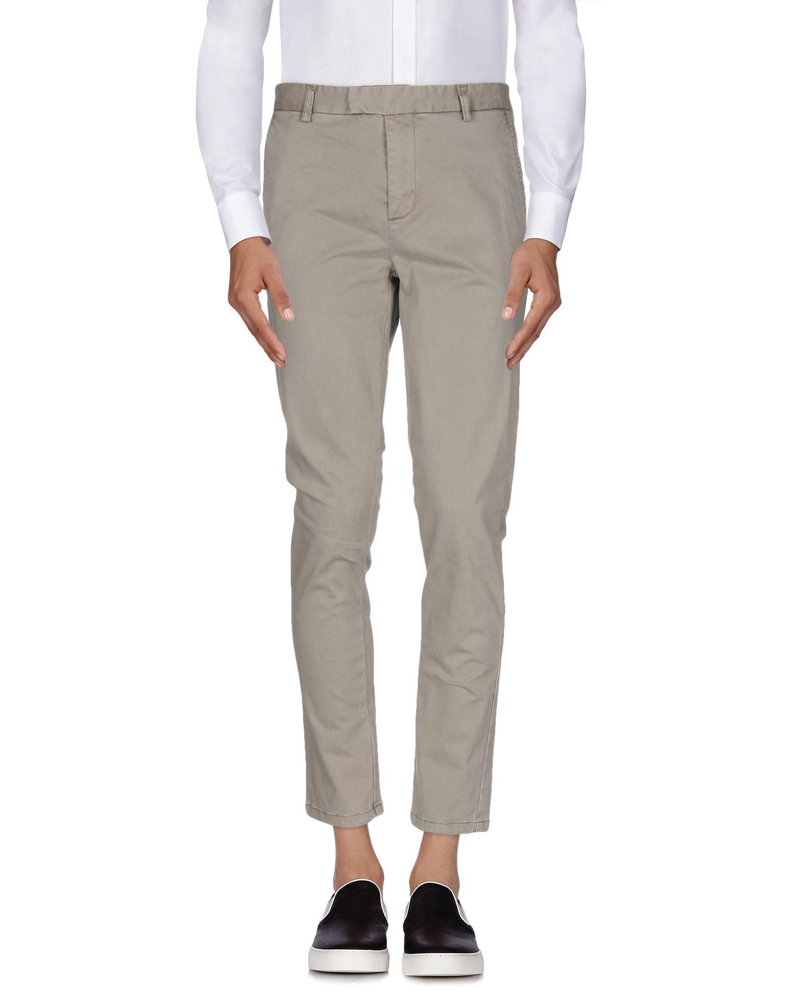 цена DAVID NAMAN Повседневные брюки онлайн в 2017 году