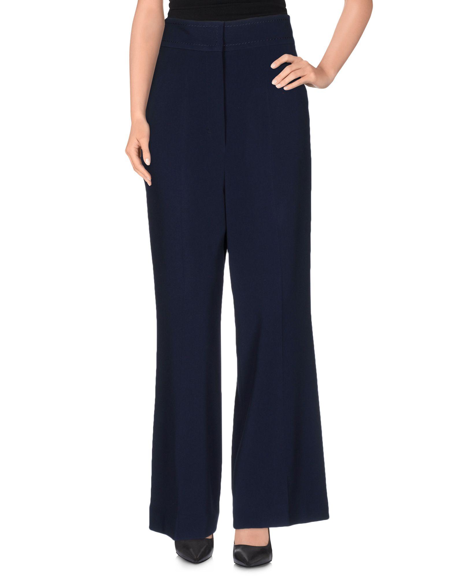 SPORTMAX Damen Hose Farbe Blau Größe 3