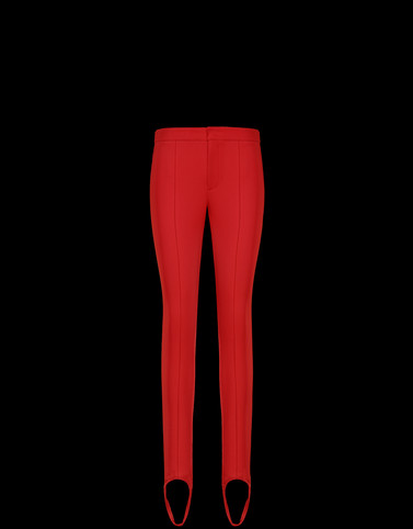 CASUAL PANTS Red Pants Woman
