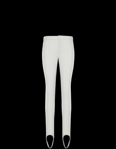CASUAL TROUSER White Category Casual trousers