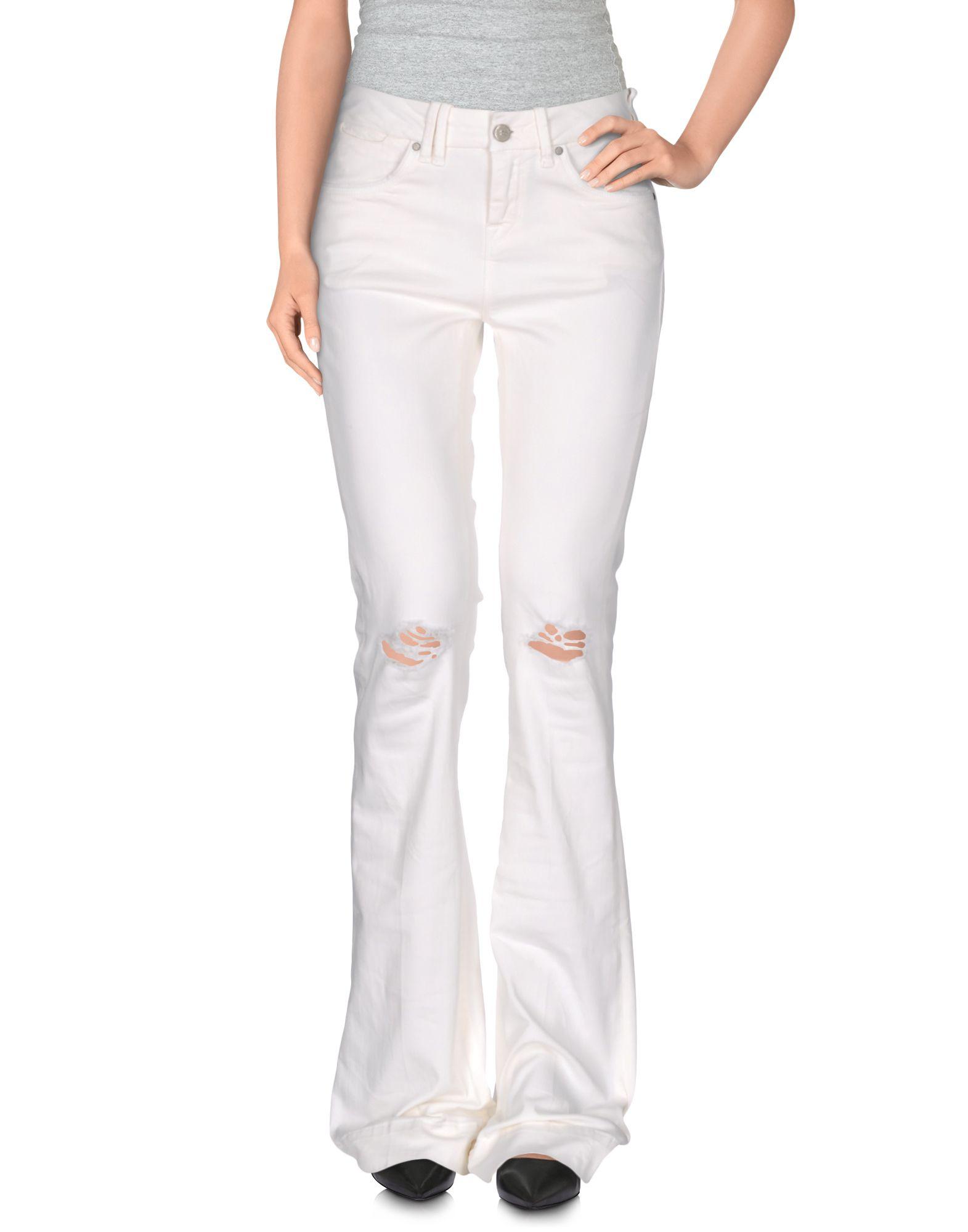 FIFTY CARAT Damen Hose Farbe Weiß Größe 4