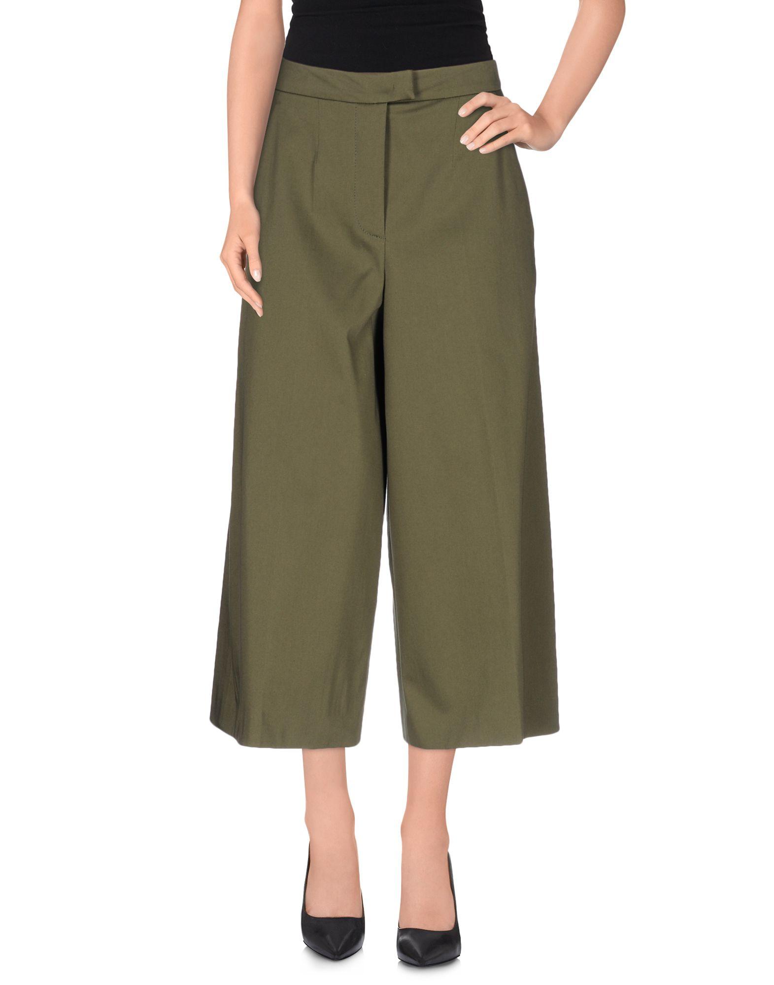 FAY Брюки-капри брюки капри из хлопка и модала