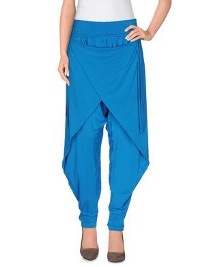 PLEIN SUD Damen Hose Farbe Azurblau Größe 4