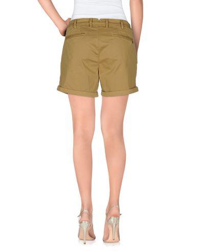 Фото 2 - Повседневные шорты цвета хаки