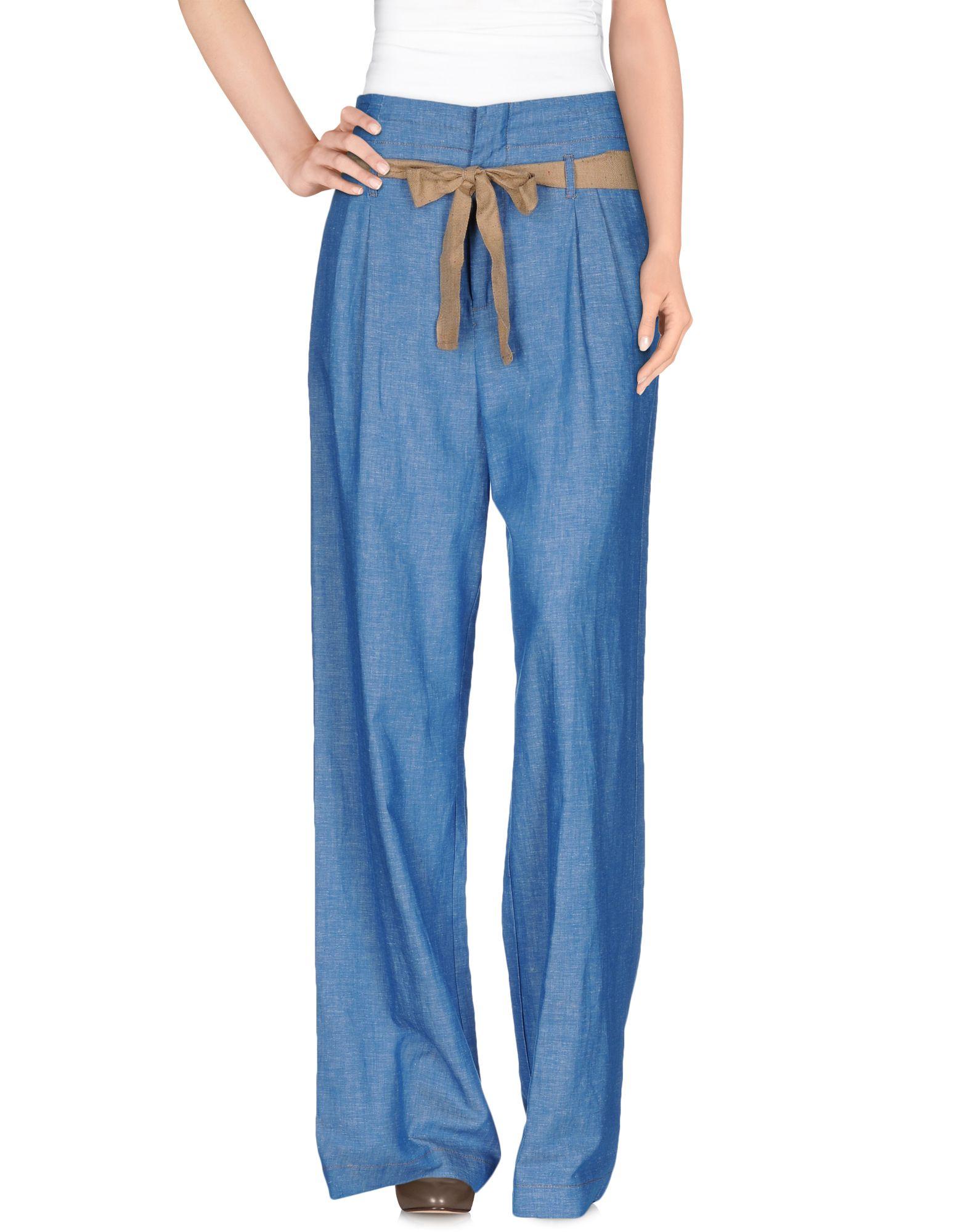 ANIYE BY Damen Hose Farbe Azurblau Größe 4