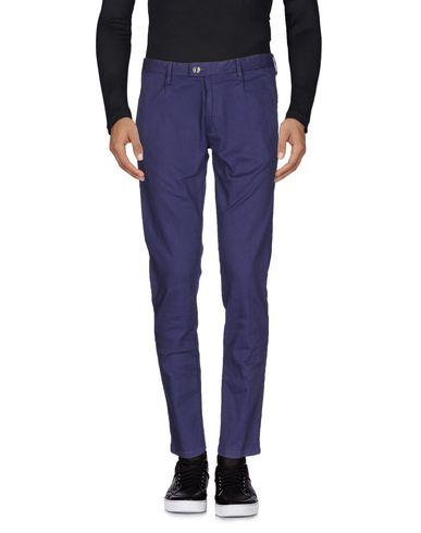 Купить Джинсовые брюки от PAOLO PECORA темно-фиолетового цвета