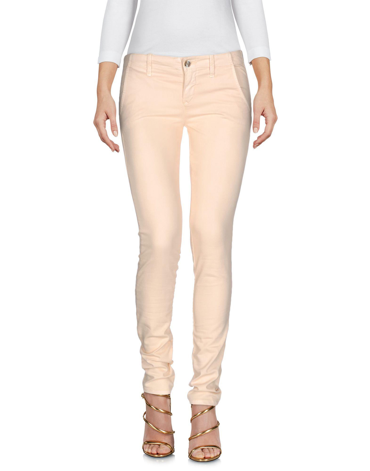 BLUGIRL FOLIES Damen Jeanshose Farbe Beige Größe 6