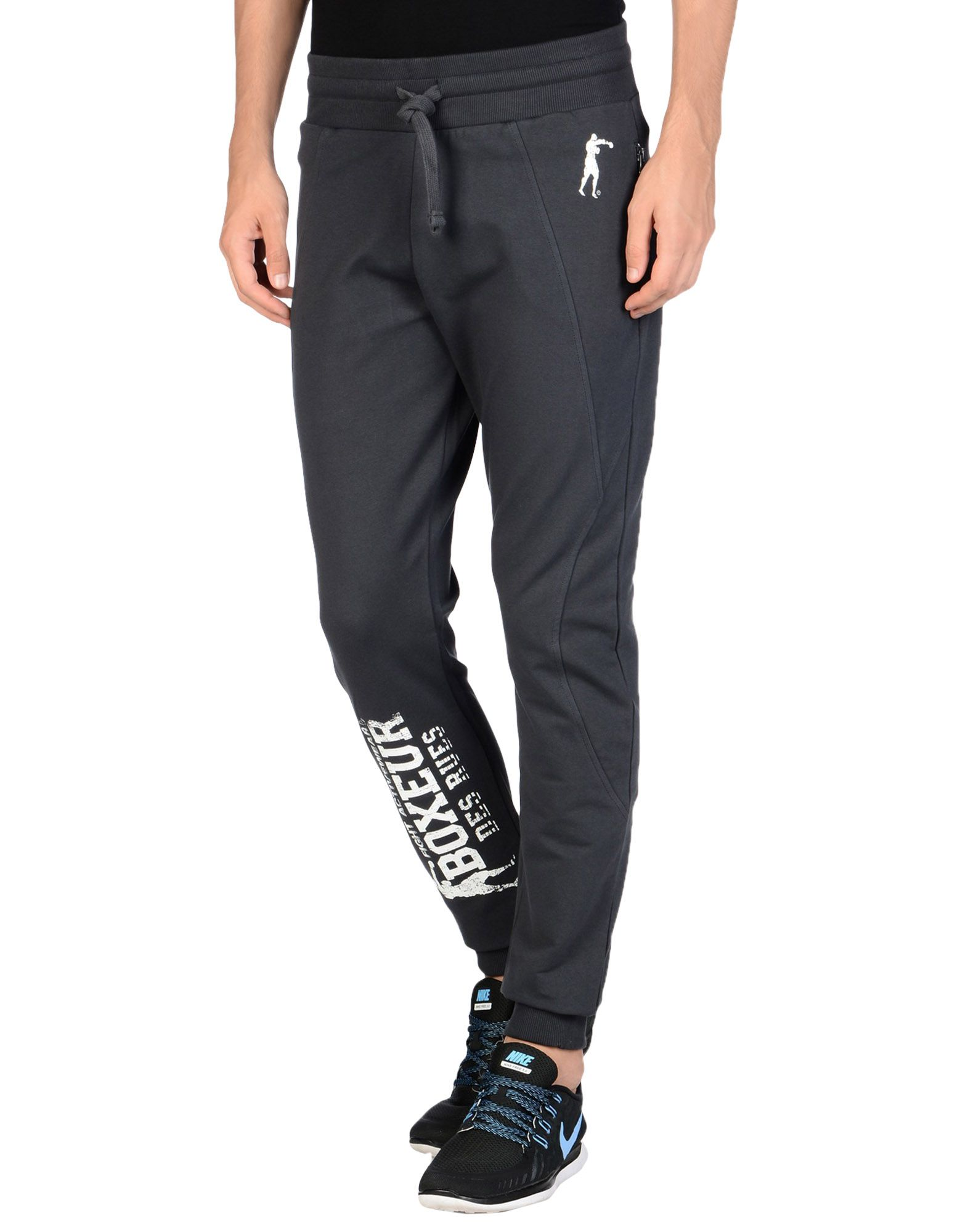 BOXEUR DES RUES Повседневные брюки брюки спортивные boxeur des rues boxeur des rues bo030emrik29