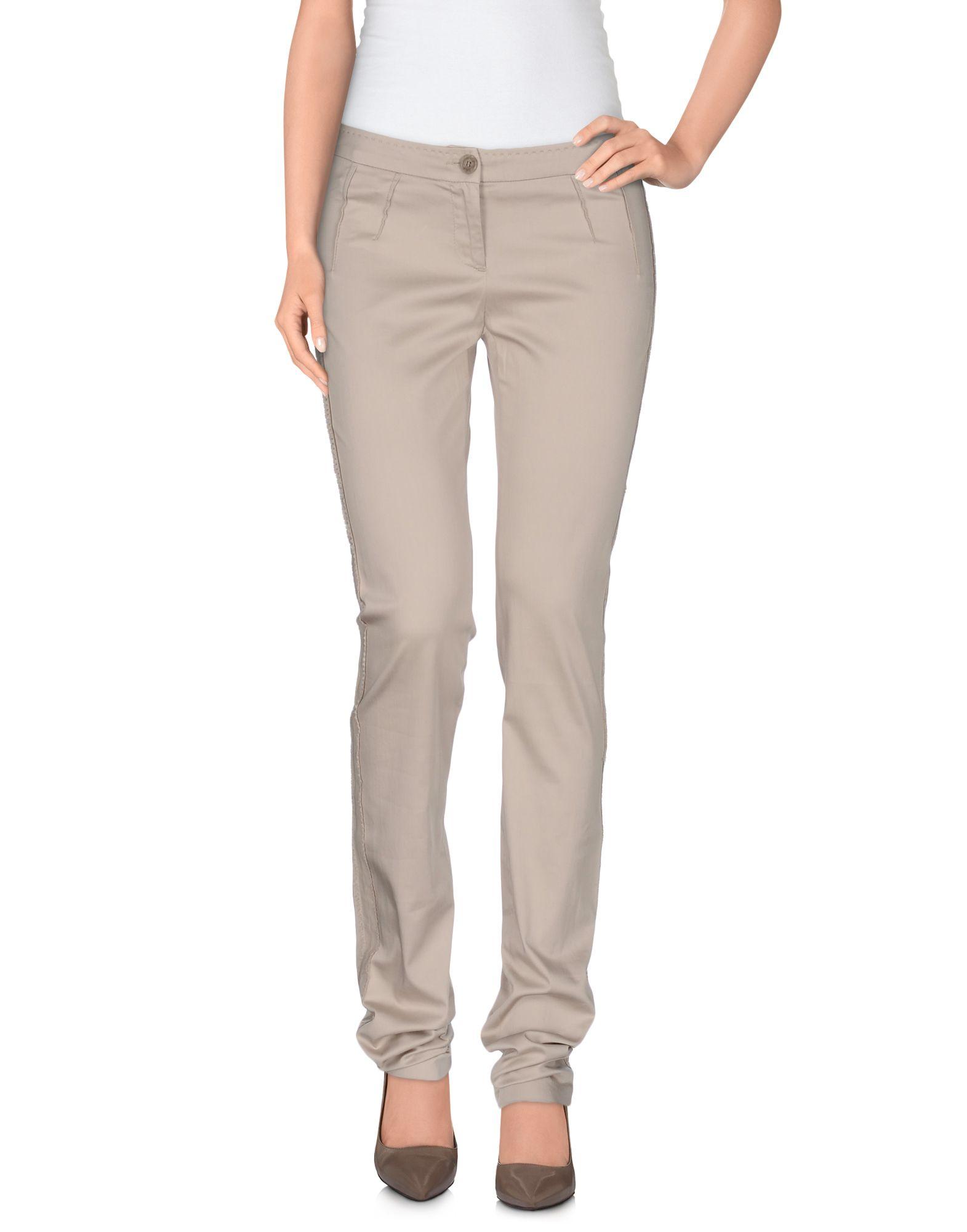цена C'N'C' COSTUME NATIONAL Повседневные брюки онлайн в 2017 году