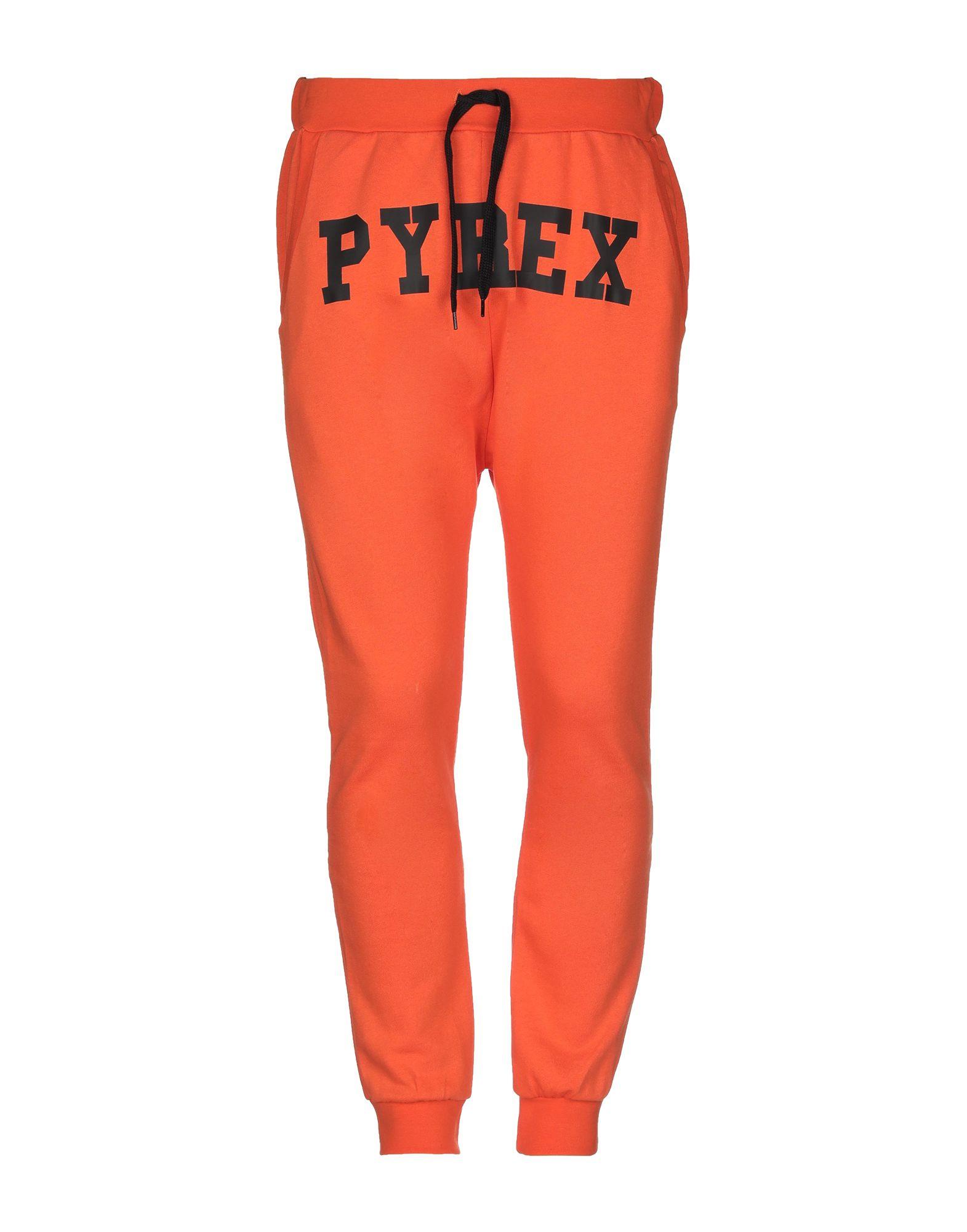 《送料無料》PYREX メンズ パンツ オレンジ XS コットン 100%