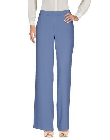 Купить Повседневные брюки от P.A.R.O.S.H. грифельно-синего цвета
