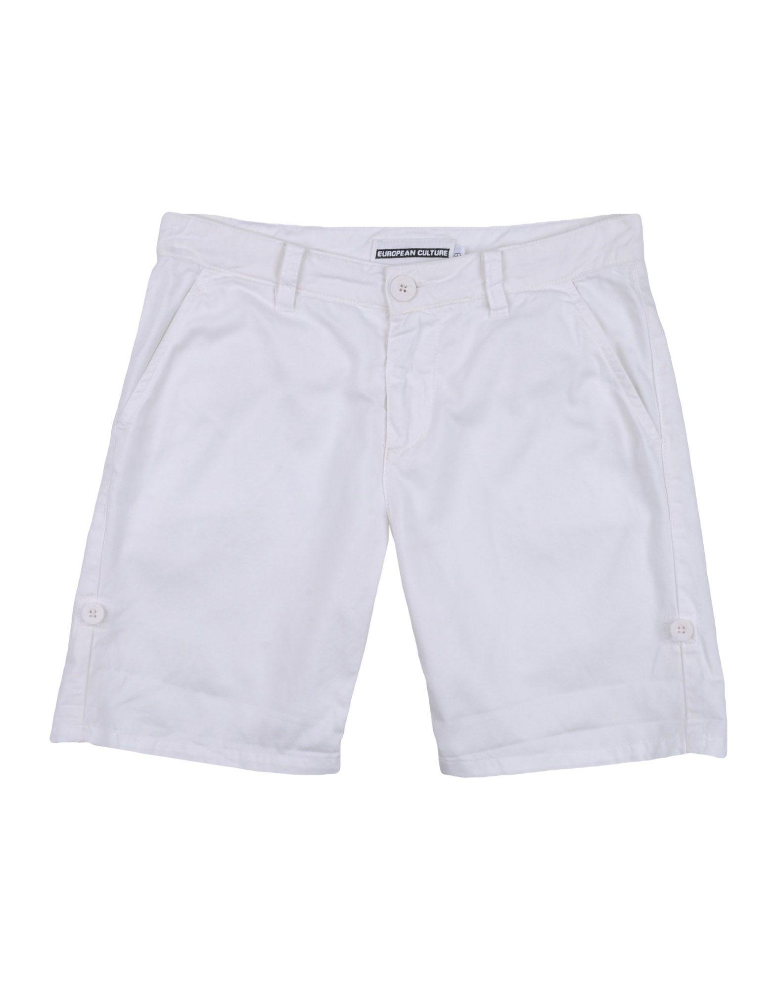 EUROPEAN CULTURE Jungen 3-8 jahre Bermudashorts Farbe Weiß Größe 6