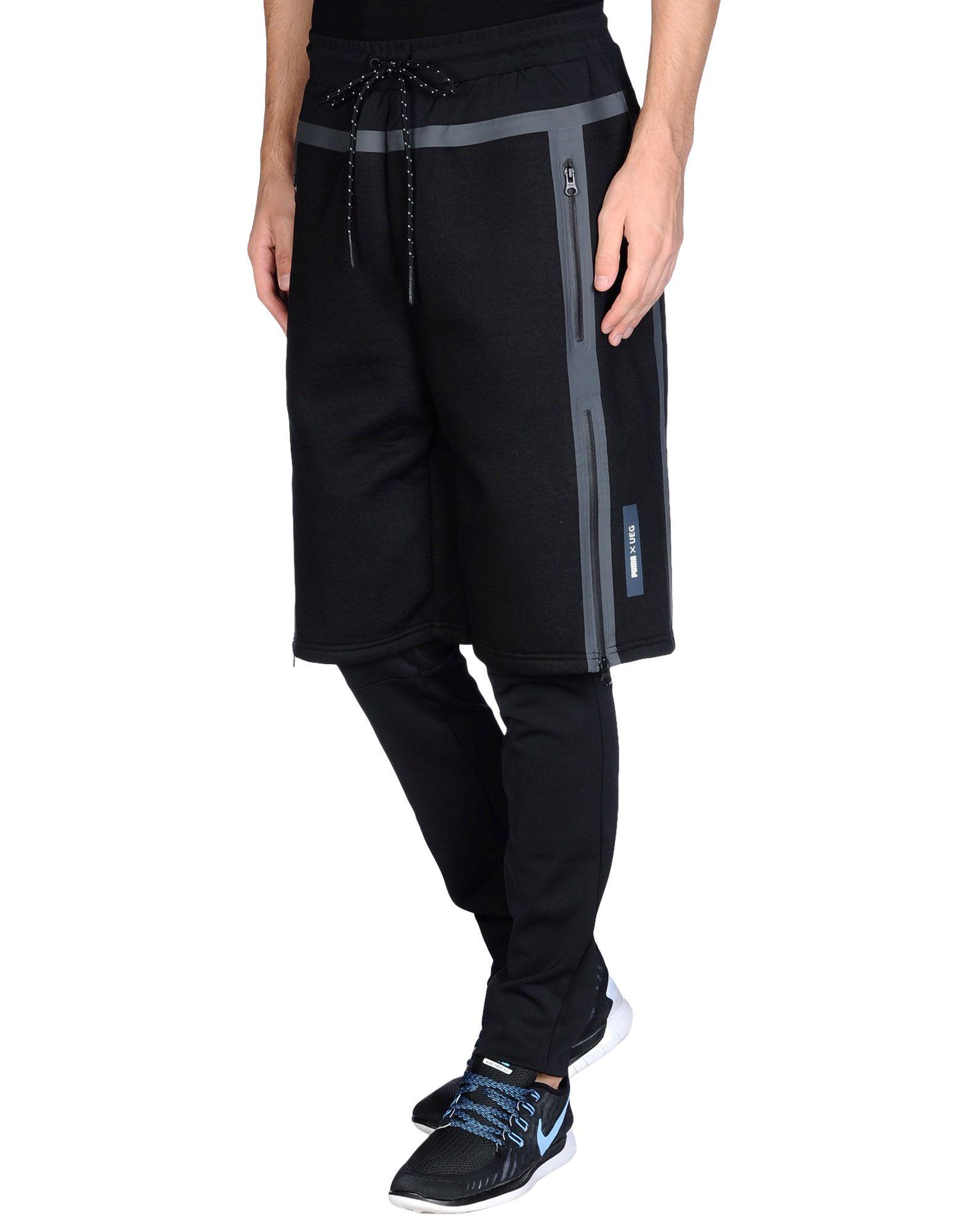 PUMA x UEG Повседневные брюки брюки puma брюки active cell poly pants