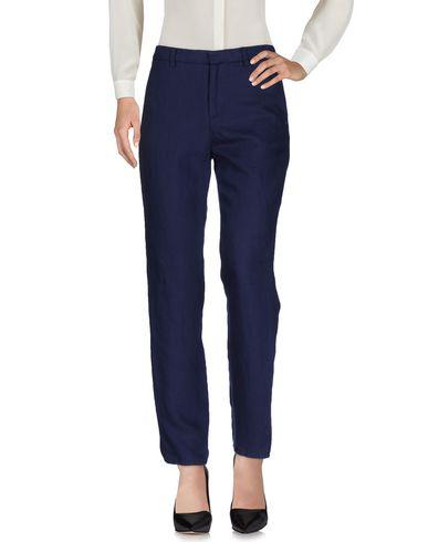 Купить Повседневные брюки темно-синего цвета