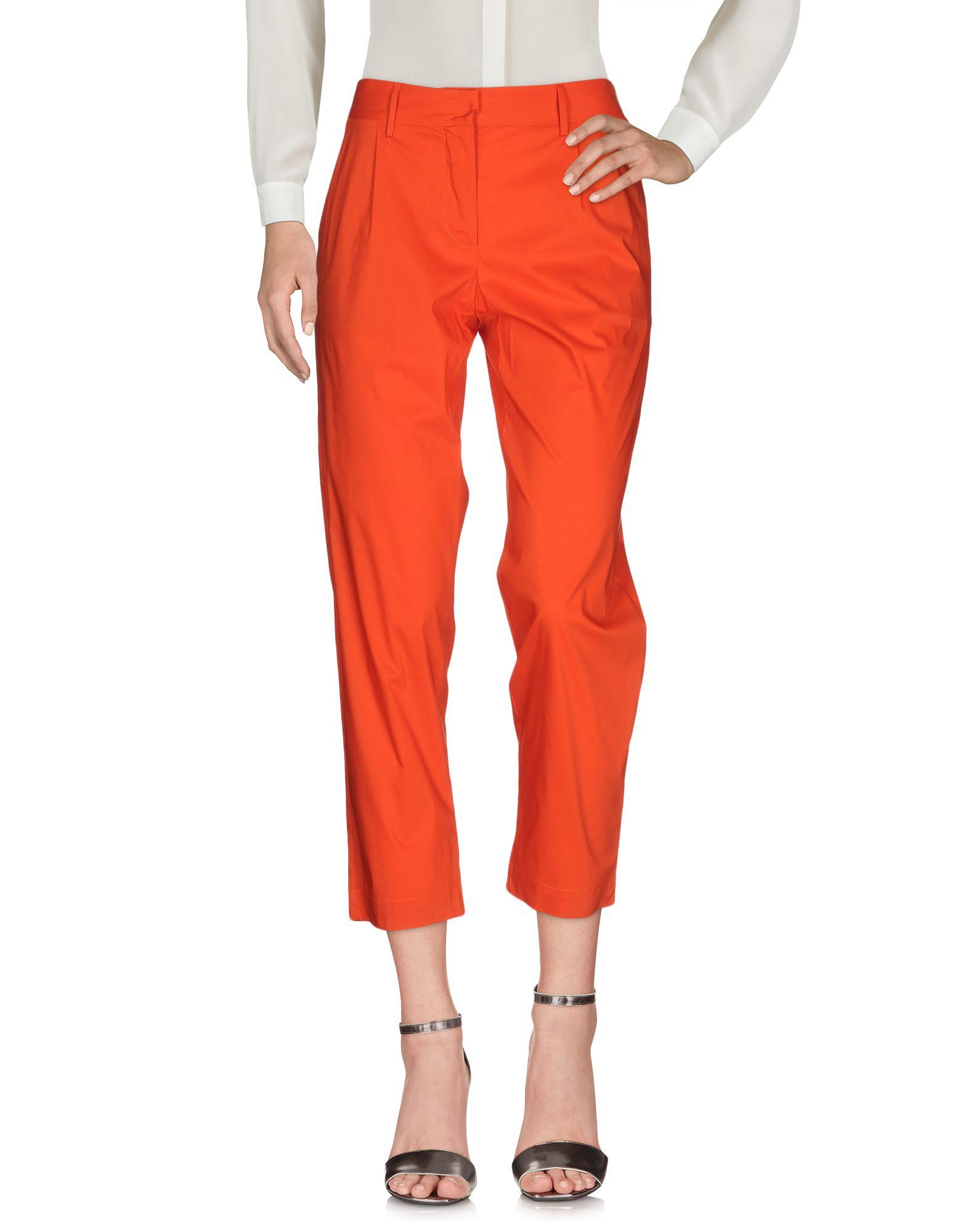 LIVIANA CONTI Damen Hose Farbe Orange Größe 6
