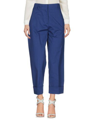 Купить Повседневные брюки от QL2  QUELLEDUE темно-синего цвета