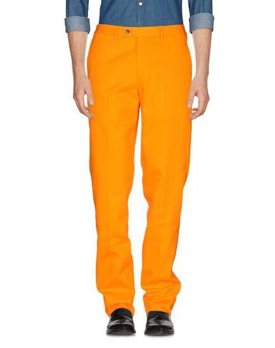 Фото - Повседневные брюки от MP MASSIMO PIOMBO оранжевого цвета