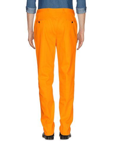 Фото 2 - Повседневные брюки от MP MASSIMO PIOMBO оранжевого цвета