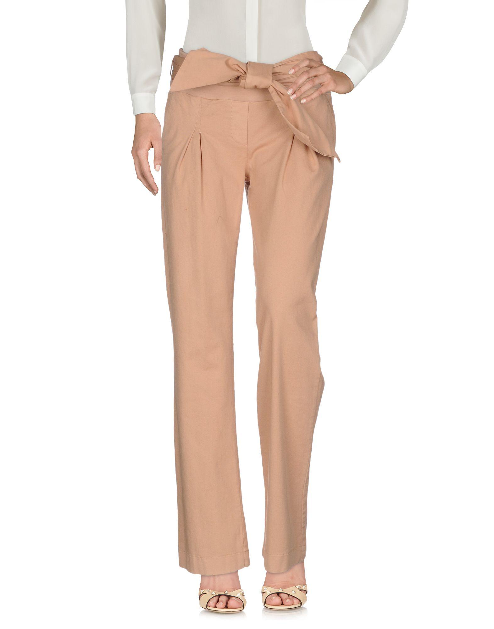 MANILA GRACE Повседневные брюки manila grace ремень
