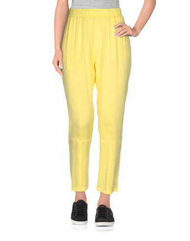 Купить Повседневные брюки желтого цвета