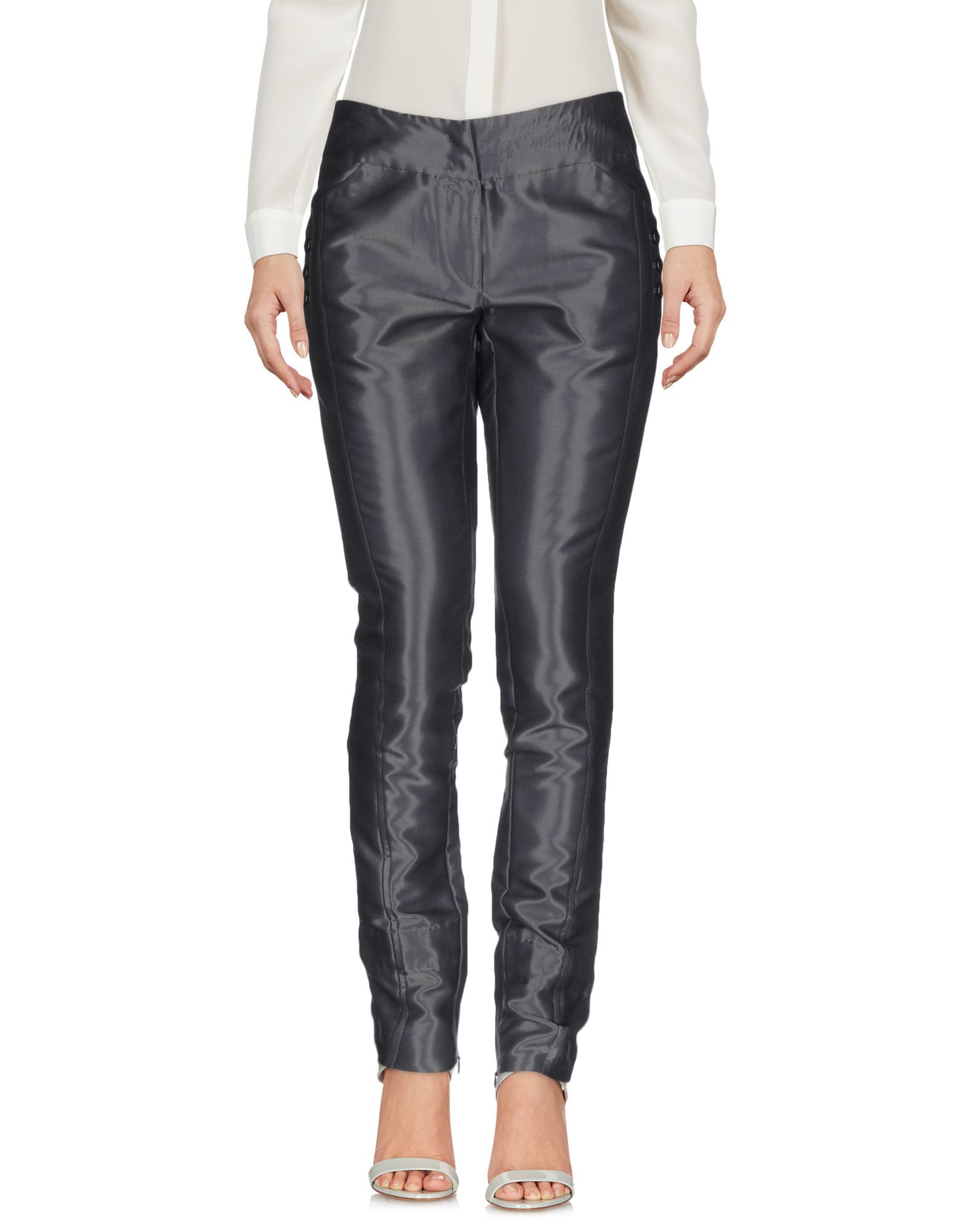 цена PINKO GREY Повседневные брюки онлайн в 2017 году