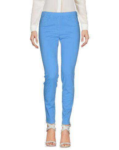 Купить Повседневные брюки от BLUE LES COPAINS пастельно-синего цвета