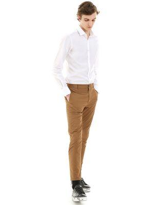 LANVIN SATIN BIKER PANTS Pants U e