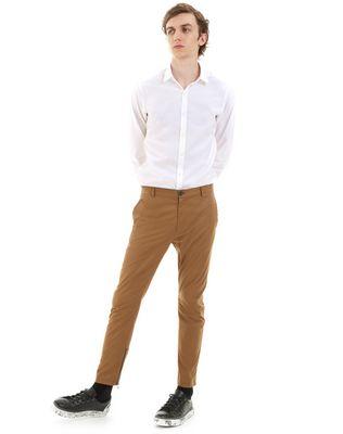 LANVIN SATIN BIKER PANTS Pants U r