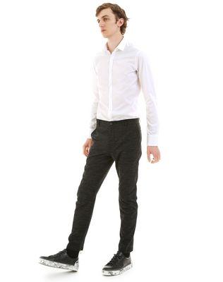 LANVIN TECHNICAL WOOL BIKER PANTS Pants U e