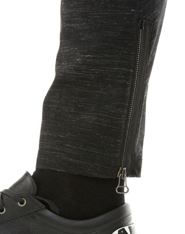 LANVIN TECHNICAL WOOL BIKER PANTS Pants U b