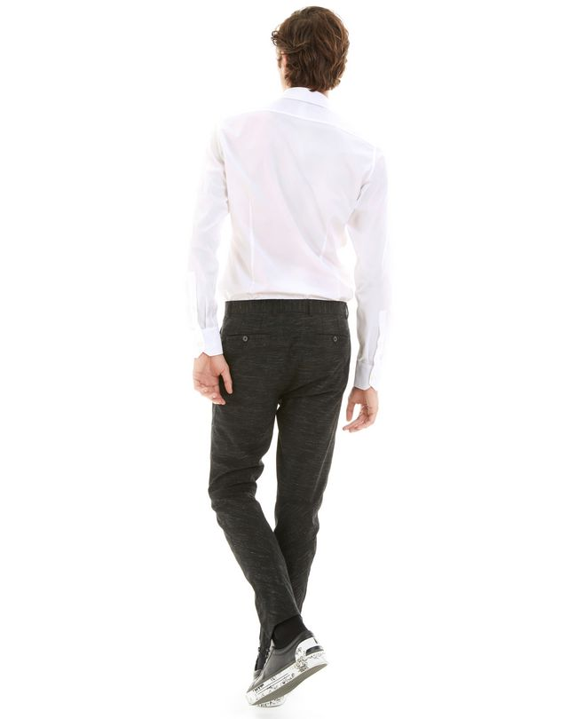LANVIN TECHNICAL WOOL BIKER PANTS Pants U d