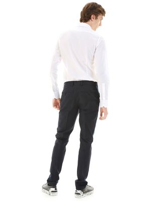 LANVIN SLIM-FIT CHINO PANTS WITH STITCHED RIBBON Pants U d
