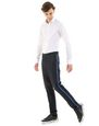 LANVIN Pants Man SLIM-FIT CHINO PANTS WITH STITCHED RIBBON f