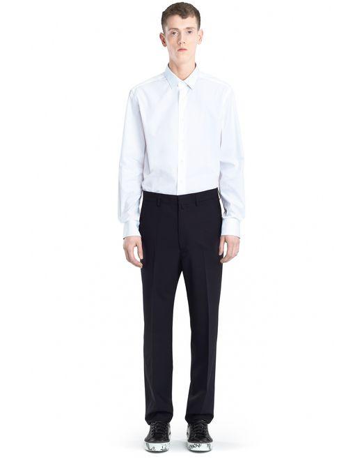 lanvin worker trousers  men
