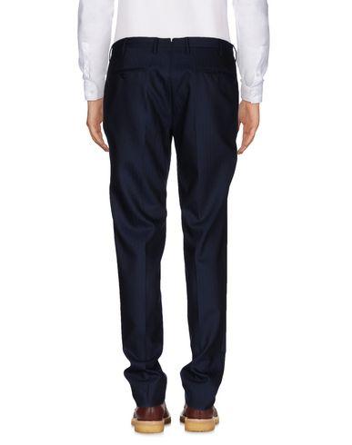 Фото 2 - Повседневные брюки от INCOTEX темно-синего цвета