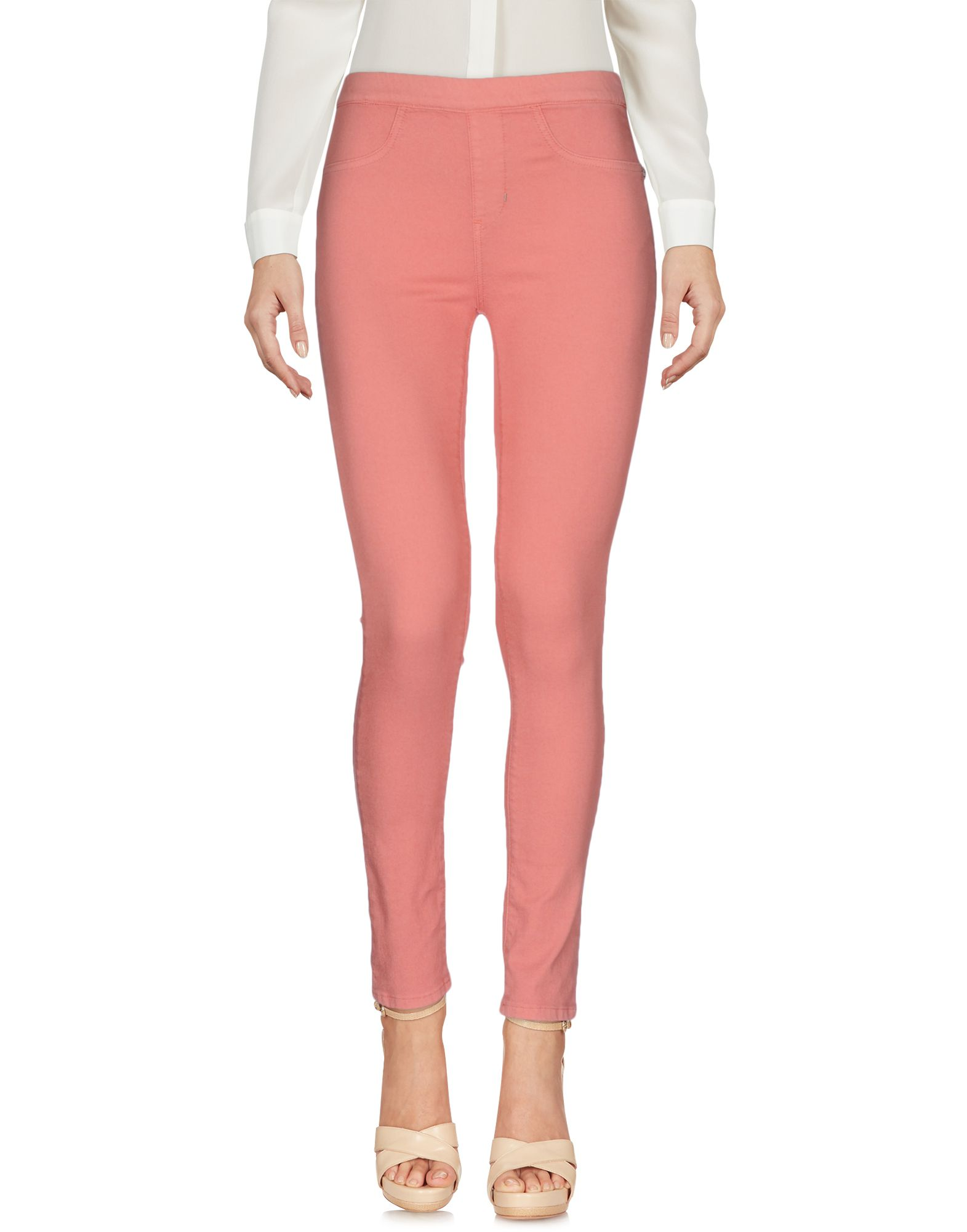 TWIN-SET JEANS Повседневные брюки checker knot bikini set