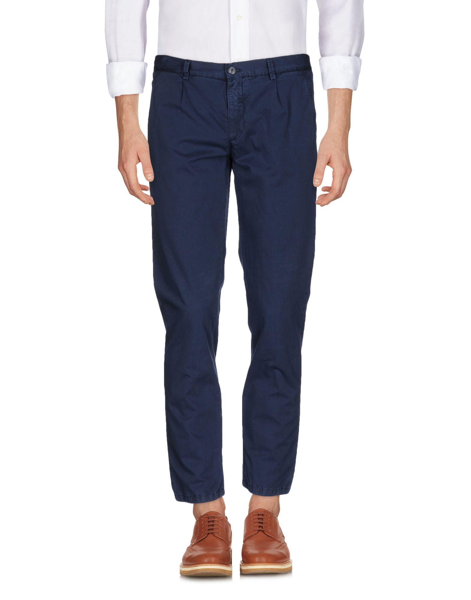 《送料無料》BASICON メンズ パンツ ブルーグレー 44 コットン 100%