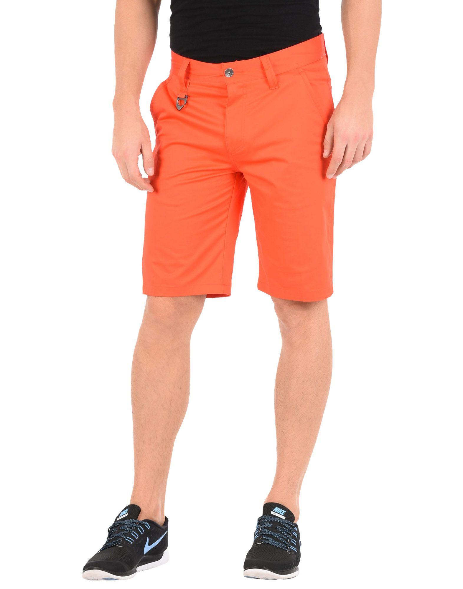 《送料無料》OAKLEY メンズ バミューダパンツ オレンジ 30 コットン 96% / ポリウレタン 4%