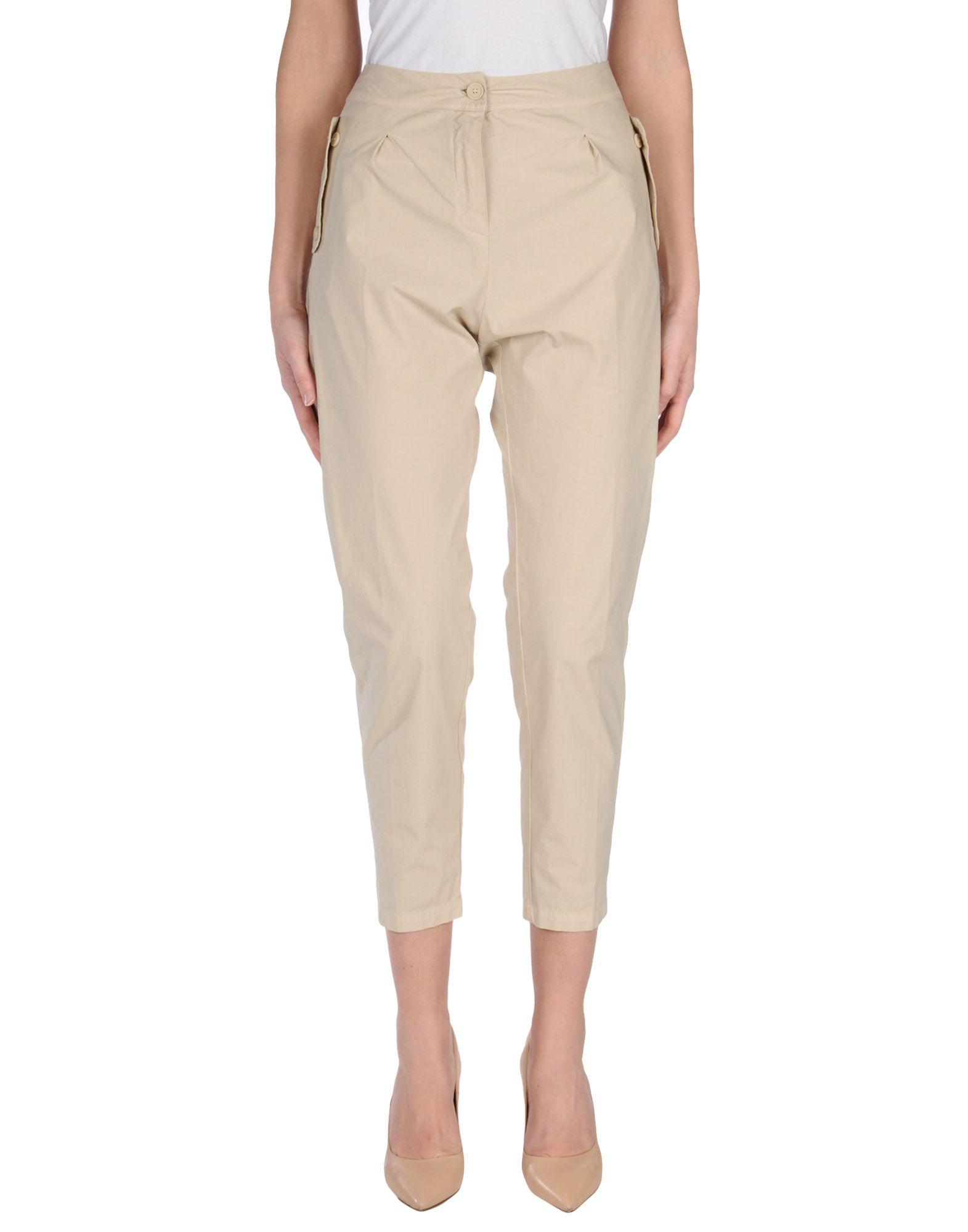 ANIYE BY Damen Hose Farbe Beige Größe 6