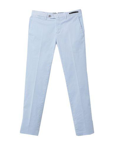 Фото - Повседневные брюки от PT01 небесно-голубого цвета