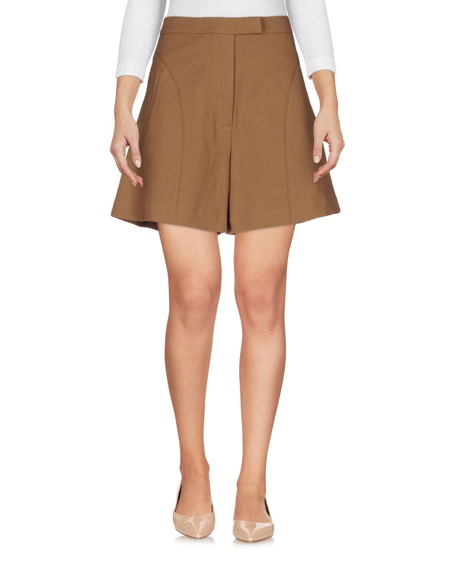 TER ET BANTINE Damen Bermudashorts Farbe Braun Größe 3 - broschei