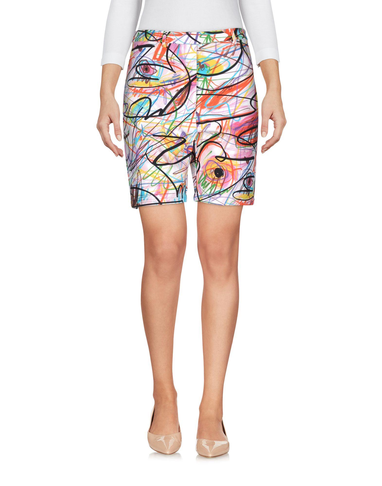 JEREMY SCOTT Damen Bermudashorts Farbe Hellrosa Größe 4 jetztbilligerkaufen