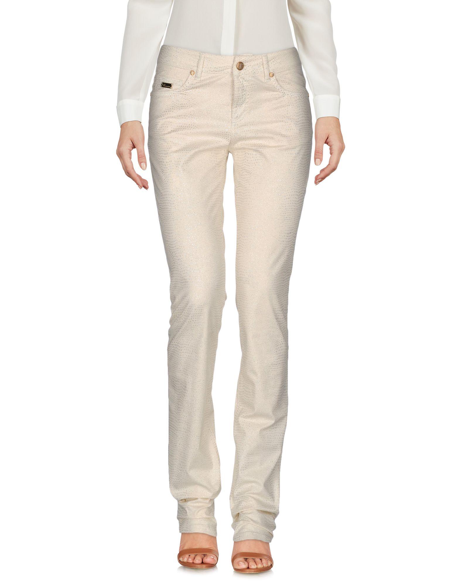 BLUMARINE Damen Hose Farbe Beige Größe 3 - broschei